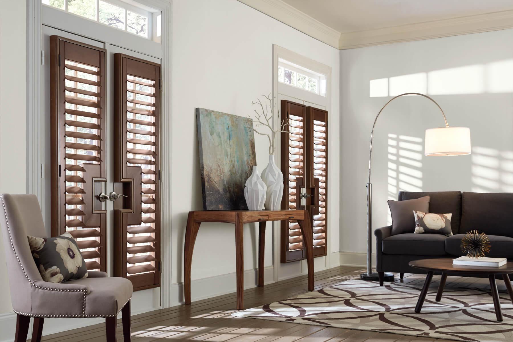 custom shutters - wood shutters
