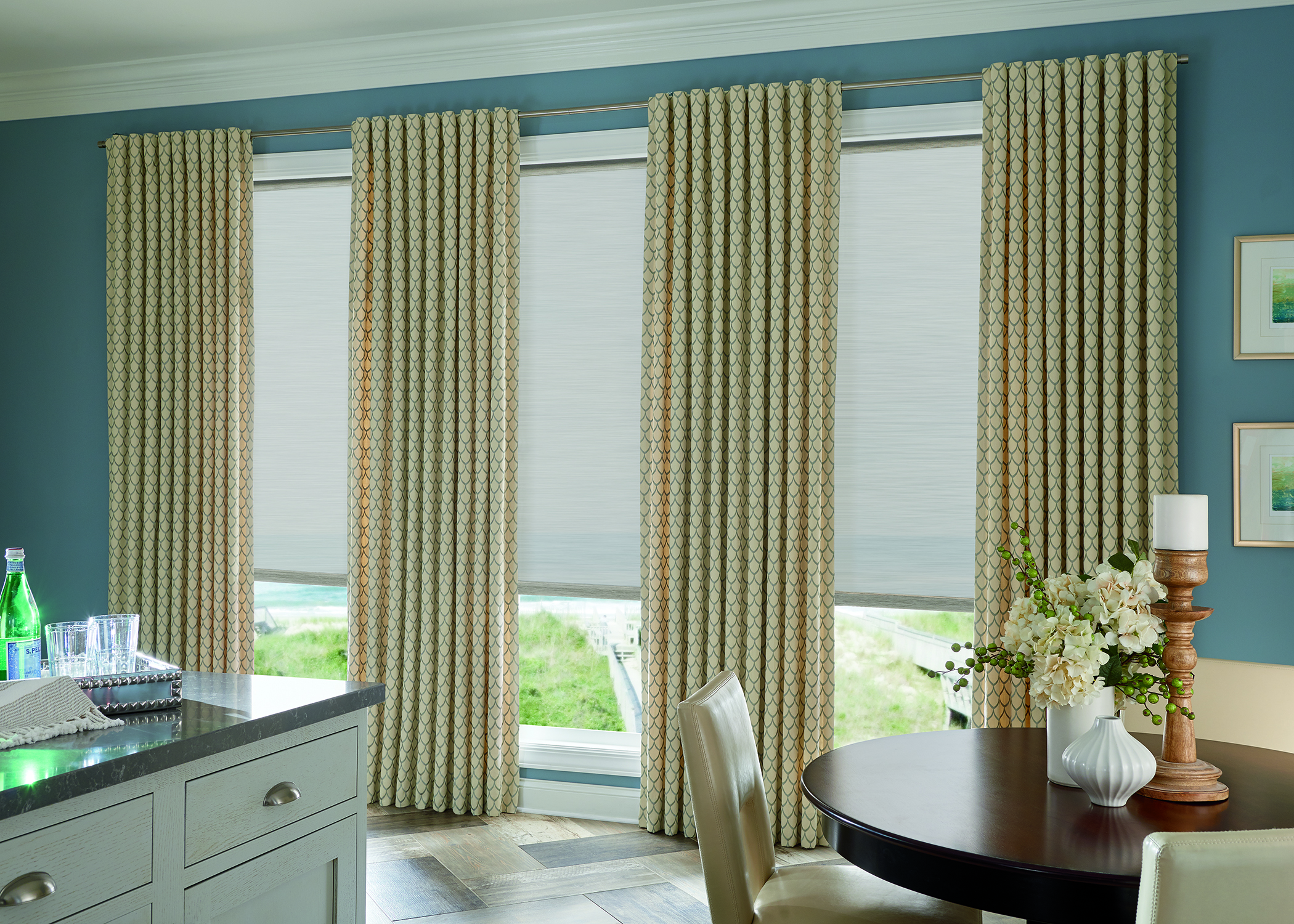 Roller Shades Cordless