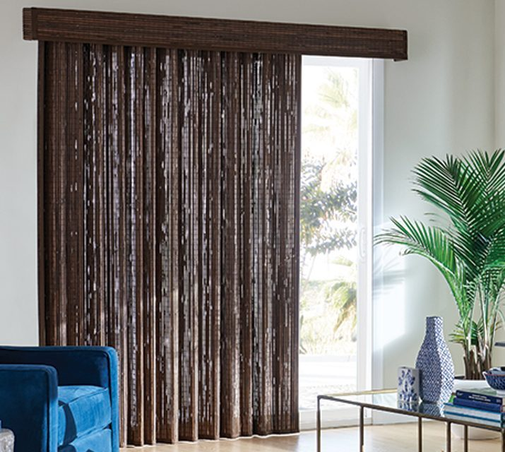custom shades - natural drapes
