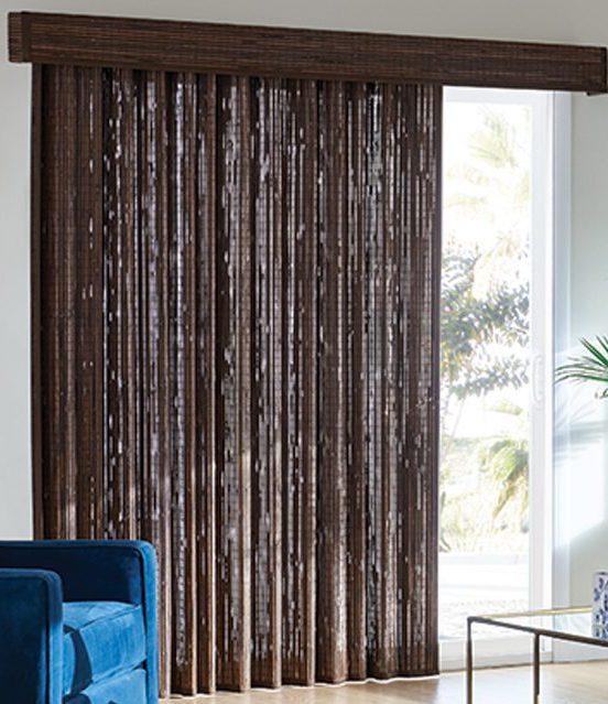 custom shades - natural drapes