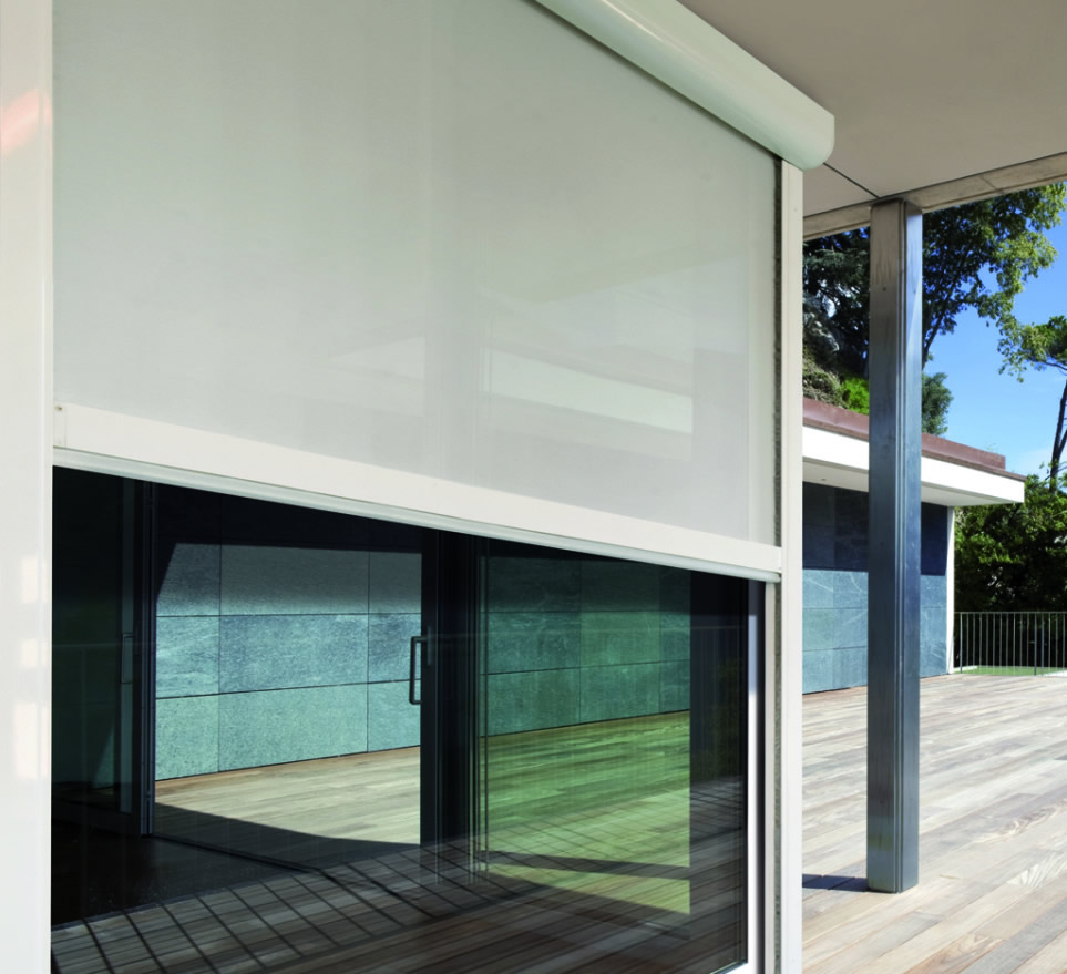 Exterior Solar Shades Protect Your Home The Blinds Side