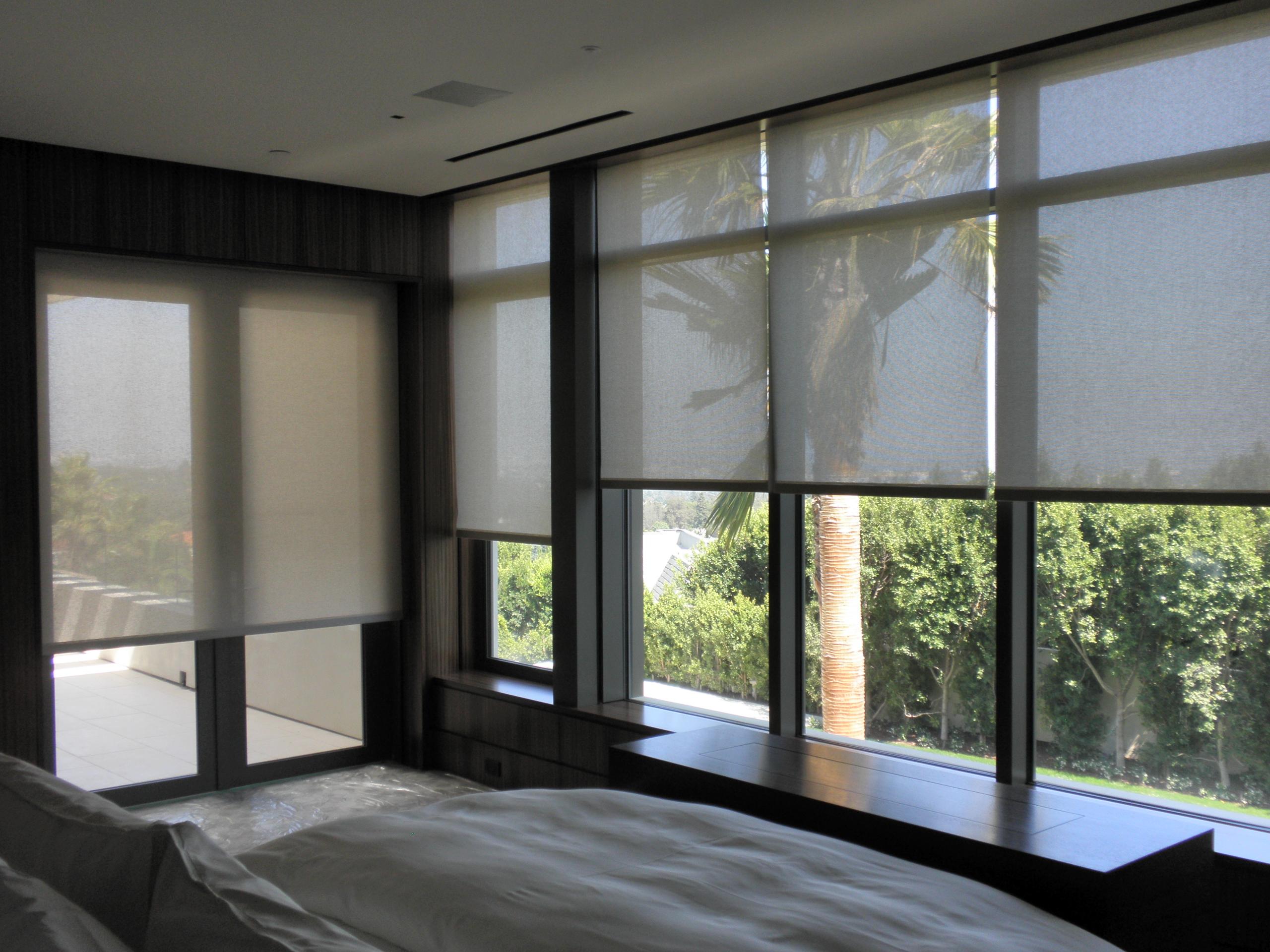 Hotel Window Solar Shades