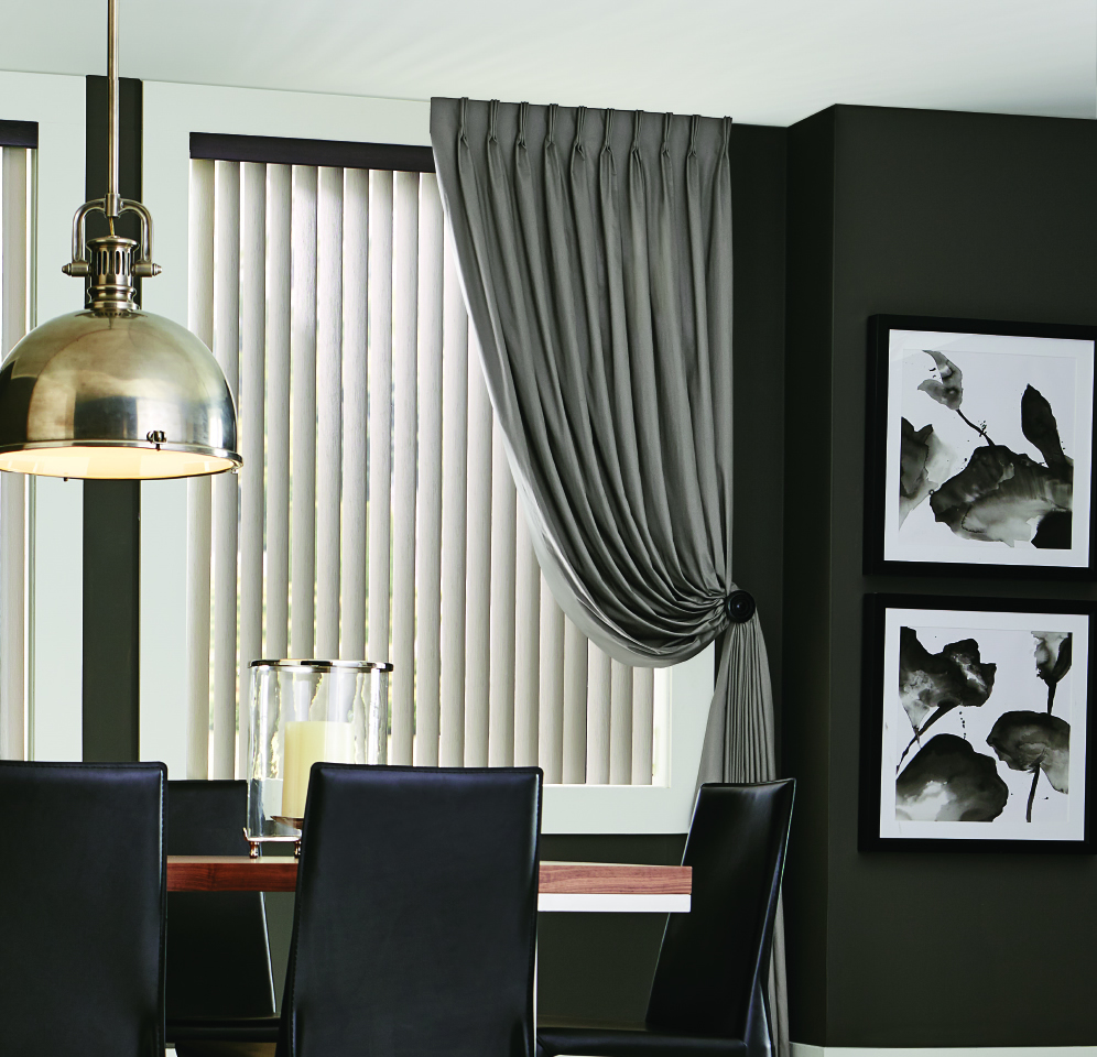 Vertical Blinds and Drapes