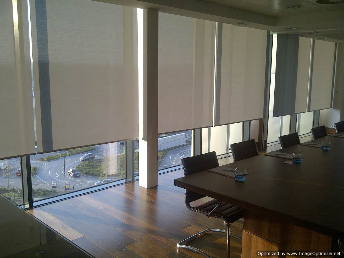 Solar Shades for conference room