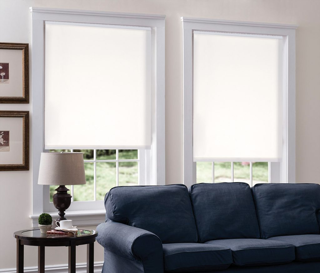 Solar Shades for Living Room