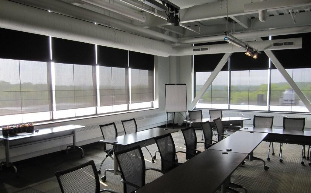 Office Blackout and E-Screen Solar Shades