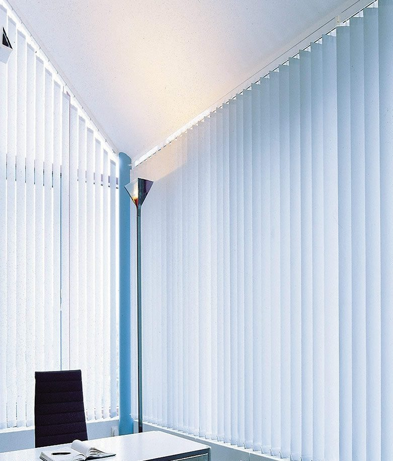 Vertical Shades for Offices