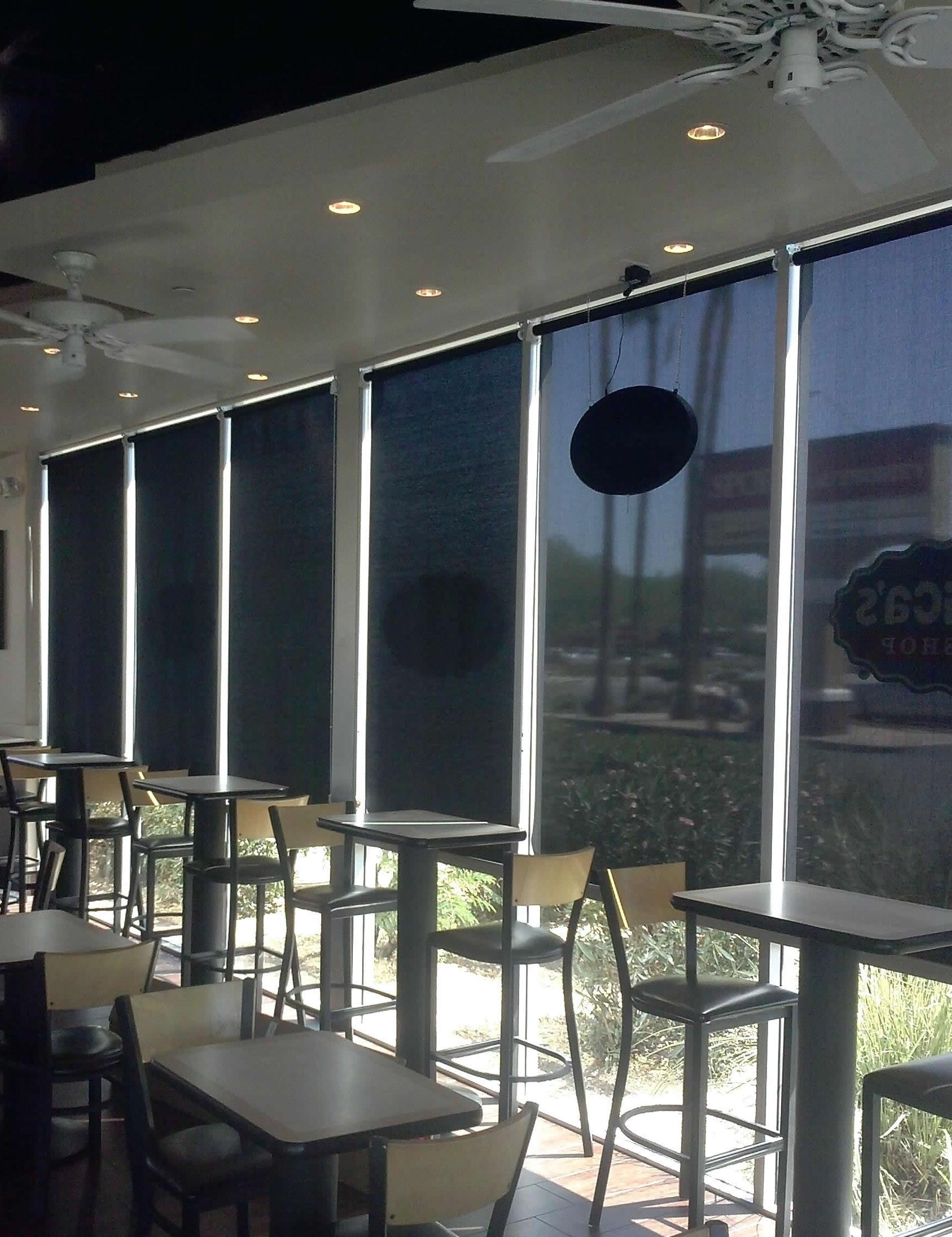 Solar Shades for Office buildings