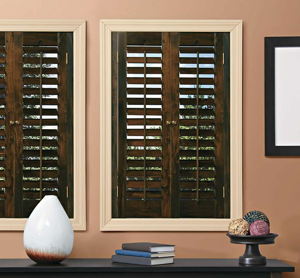 Real Wood Commercial Shutters