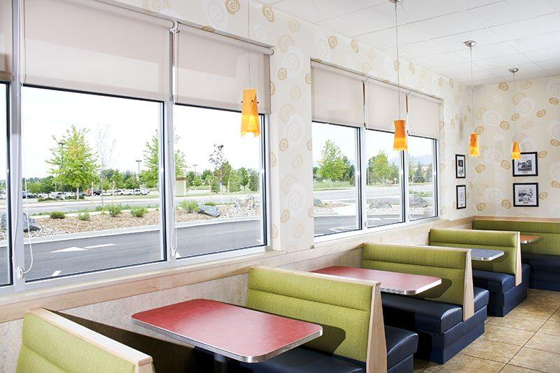 Restaurant Window Coverings