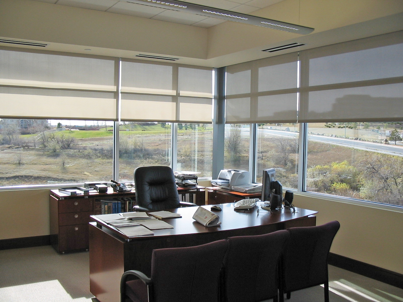 Office Solar Shades
